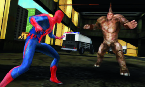 8_ASM_Screenshot_3DS_Spider-Man and Rhino Face Off