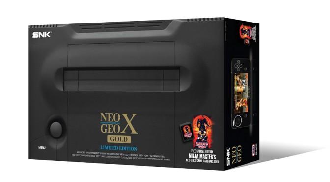 Neo Geo X Gold Packshot