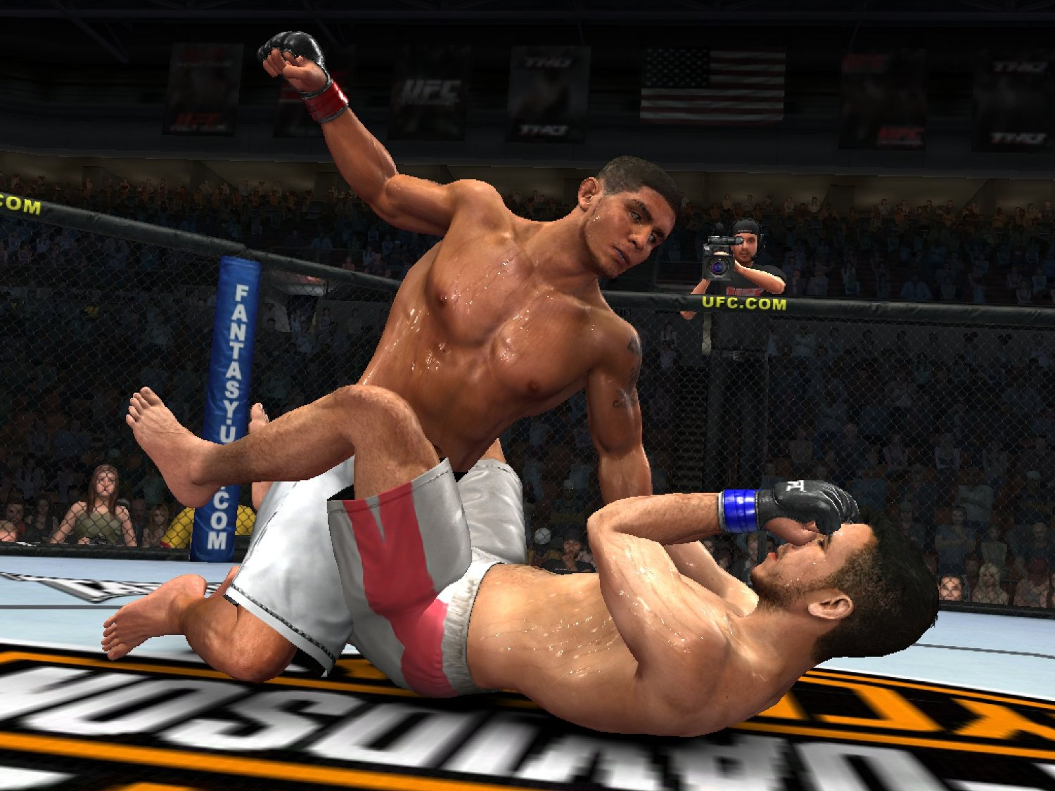 Ufc undisputed 3 is a mixed martial artsvideo game featuring ultimate fighting championship properties and fighters