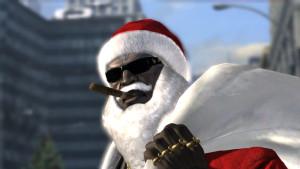 Santa_coming_Rodin_Bayonetta