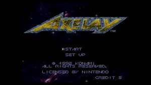 Axelay_Titlescreen