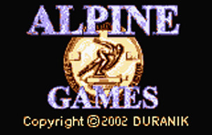Duranik_Alpine_title_screen