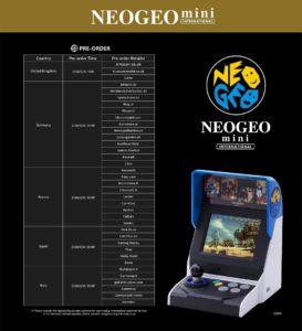 Händler-NeoGeo-Mini